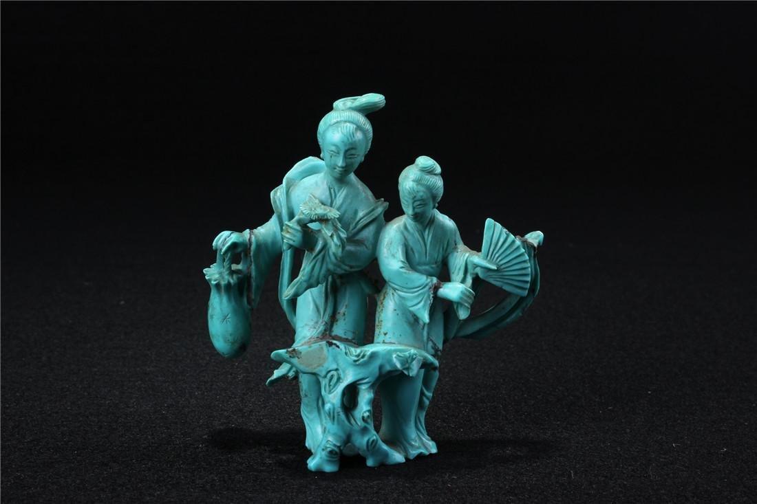 Turquoise maid