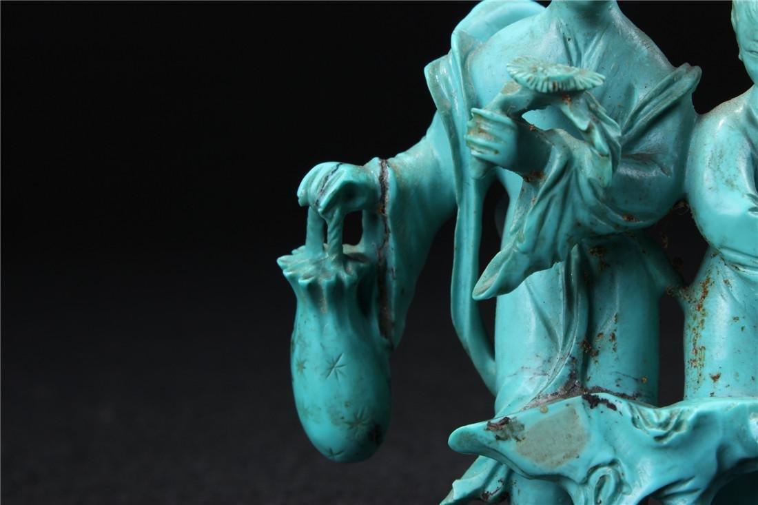 Turquoise maid - 3