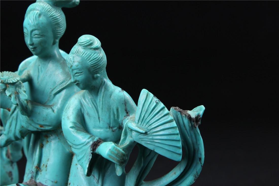 Turquoise maid - 5