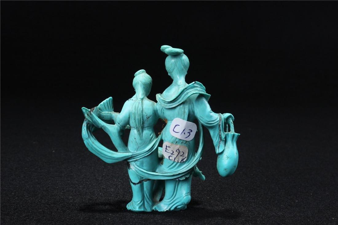 Turquoise maid - 6