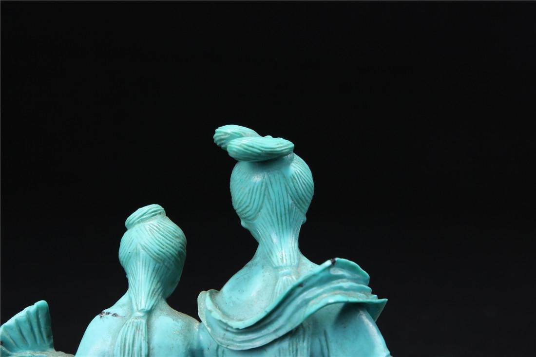 Turquoise maid - 7
