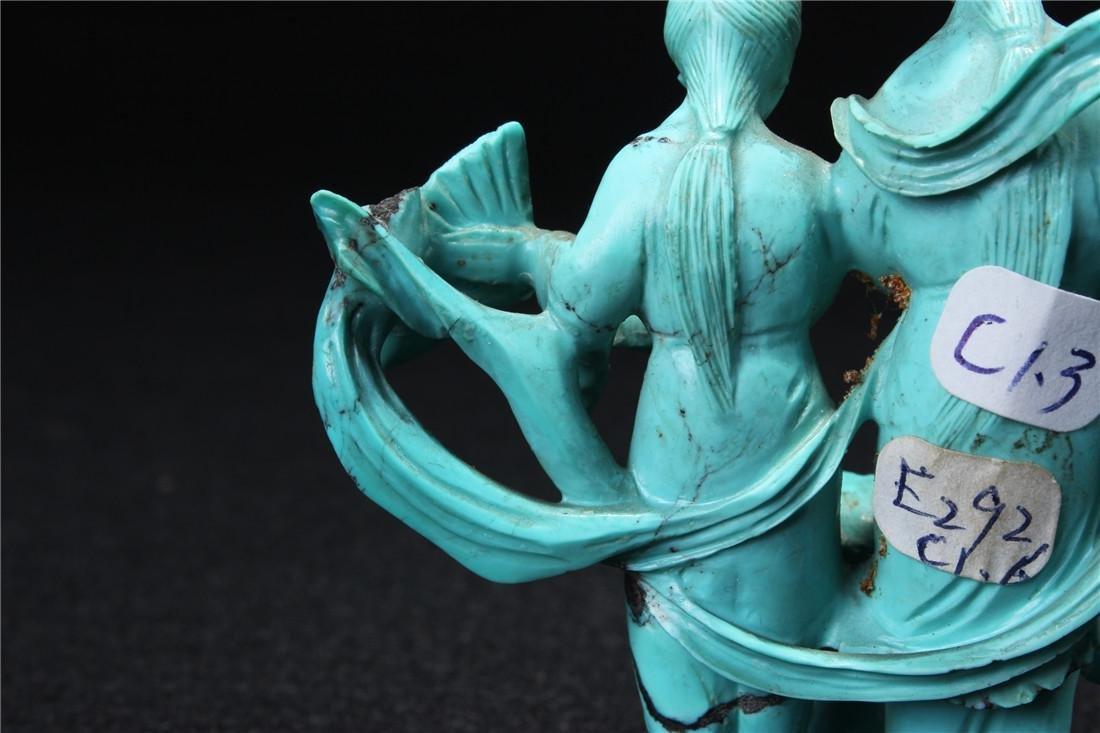Turquoise maid - 8
