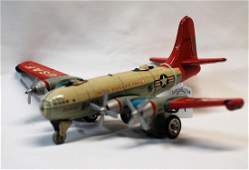1950s Hadsons Japan Boeing B-50 USAF Tail #9304 Tin