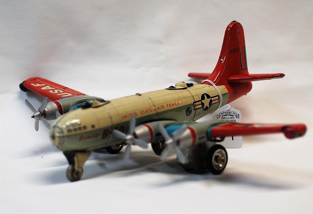 1950s Hadsons Japan Boeing B-50 USAF Tail #9304 Tin