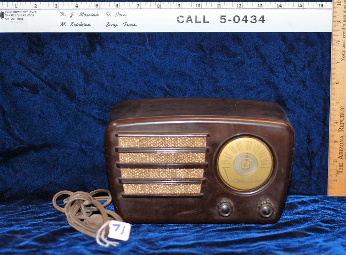 1948 Crosley Radio Model 58TK