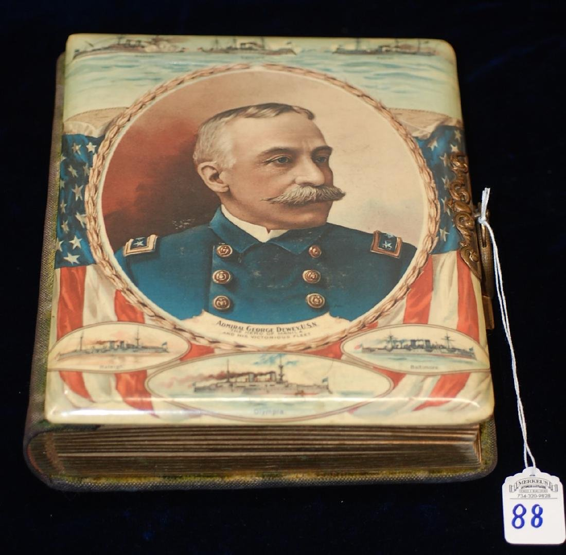 Late 19th Century Photo Album Feat. Admiral George