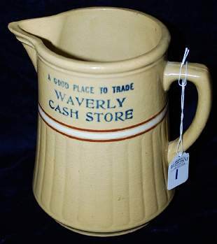 Red Wing Saffron Ware Pitcher A good Place to Trade
