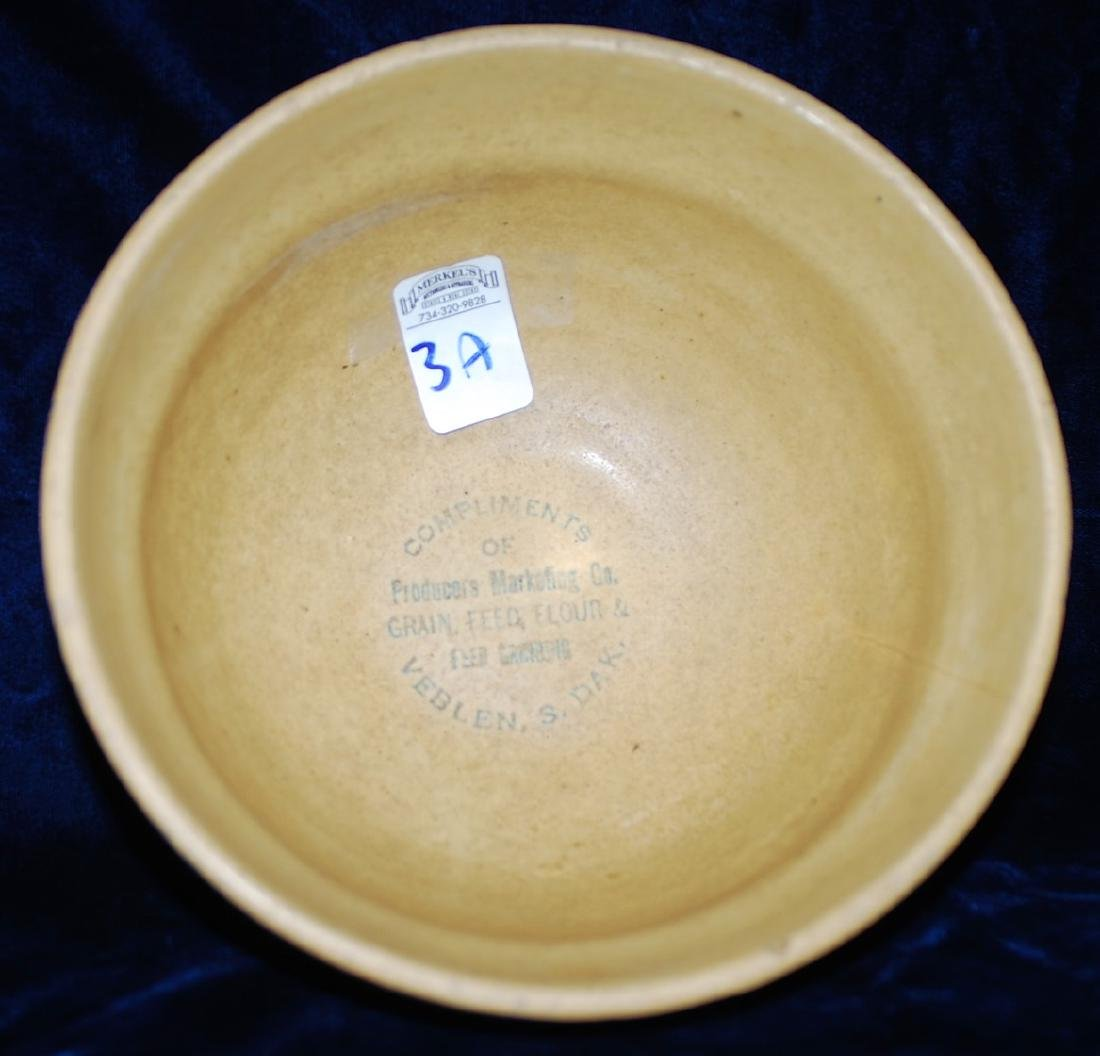 Red Wing Saffron Ware 2 Color Sponged Bowl Marketing Co