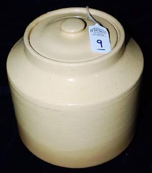 Red Wing Saffron Ware Jar w lid