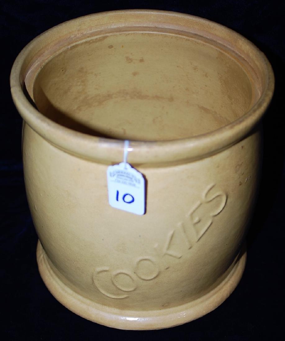 Red Wing Saffron Ware Cookie Jar