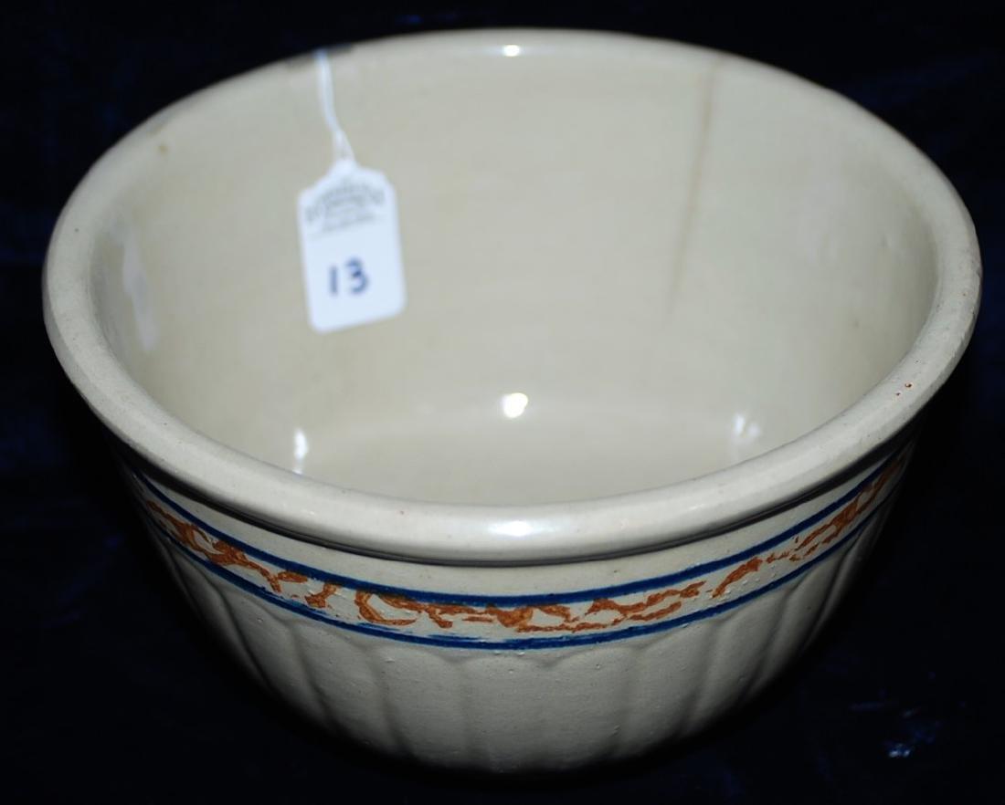 Red Wing Advertising Bowl Frush & Houser Jesup Iowa - 3
