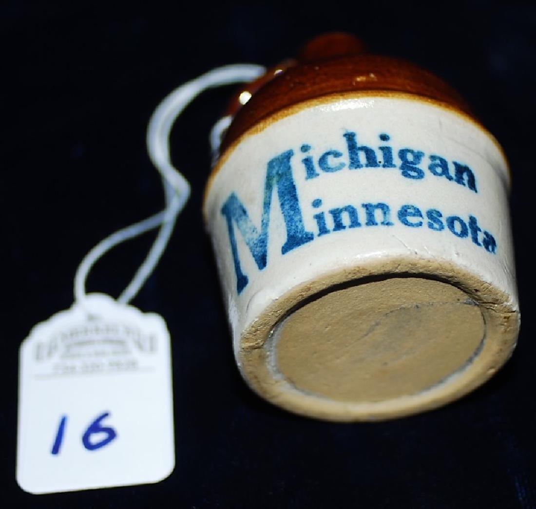 Souvenir Mini Jug Michigan Minnesota - 4