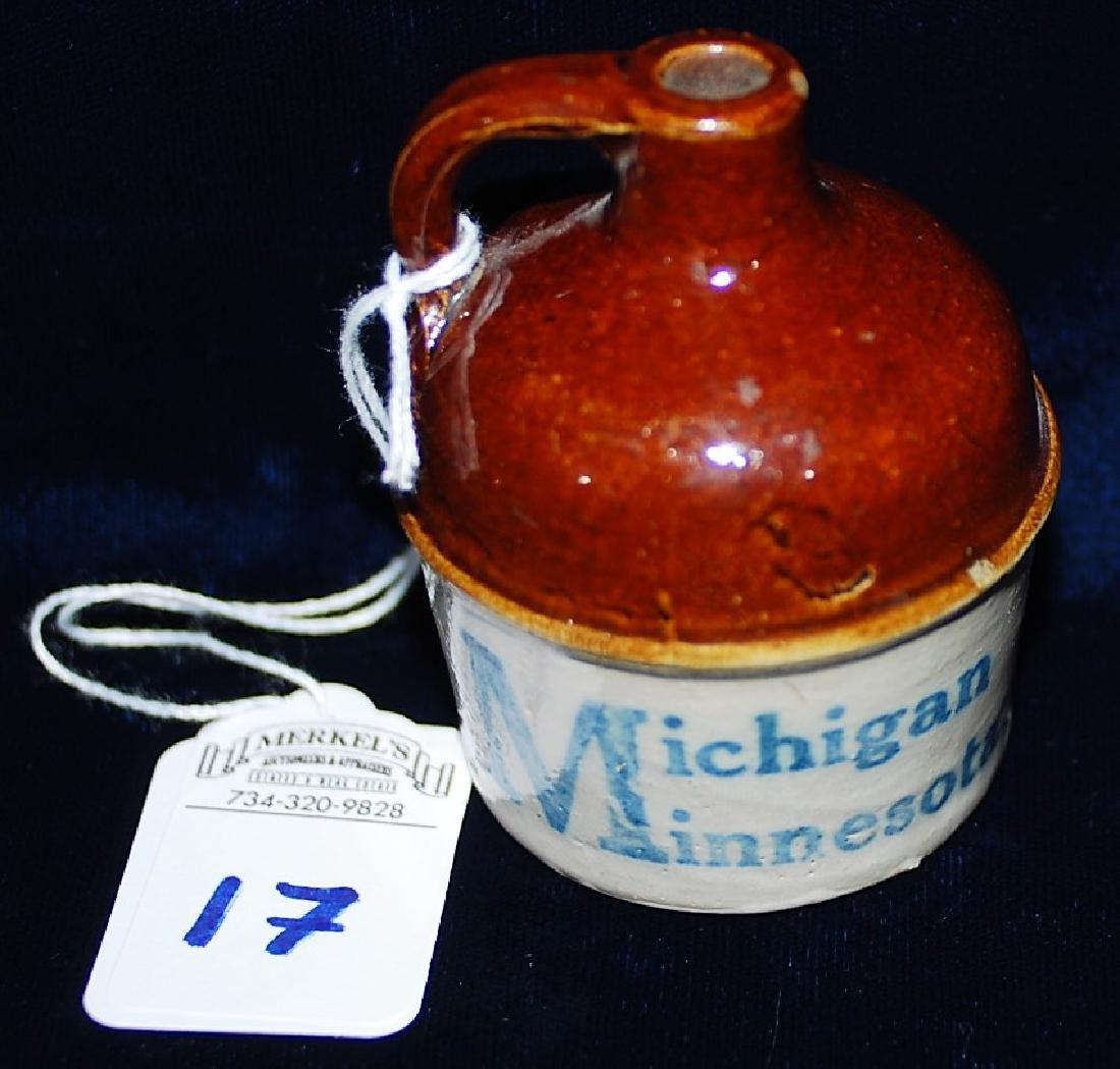 Souvenir Mini Jug Michigan Minnesota