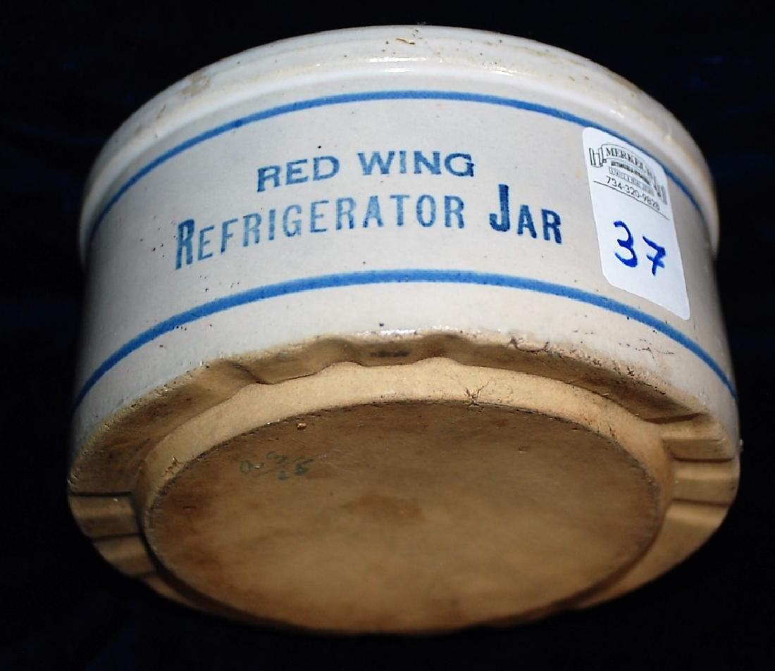 "Refrigerator jar. Reads ""RED WING REFRIGERATOR JAR"" - 2"