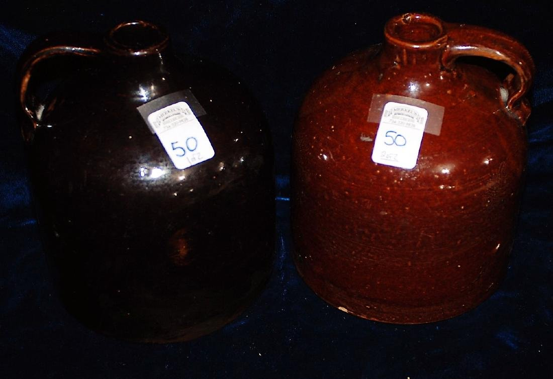 Lot of 2 Red Wing half gallon jugs