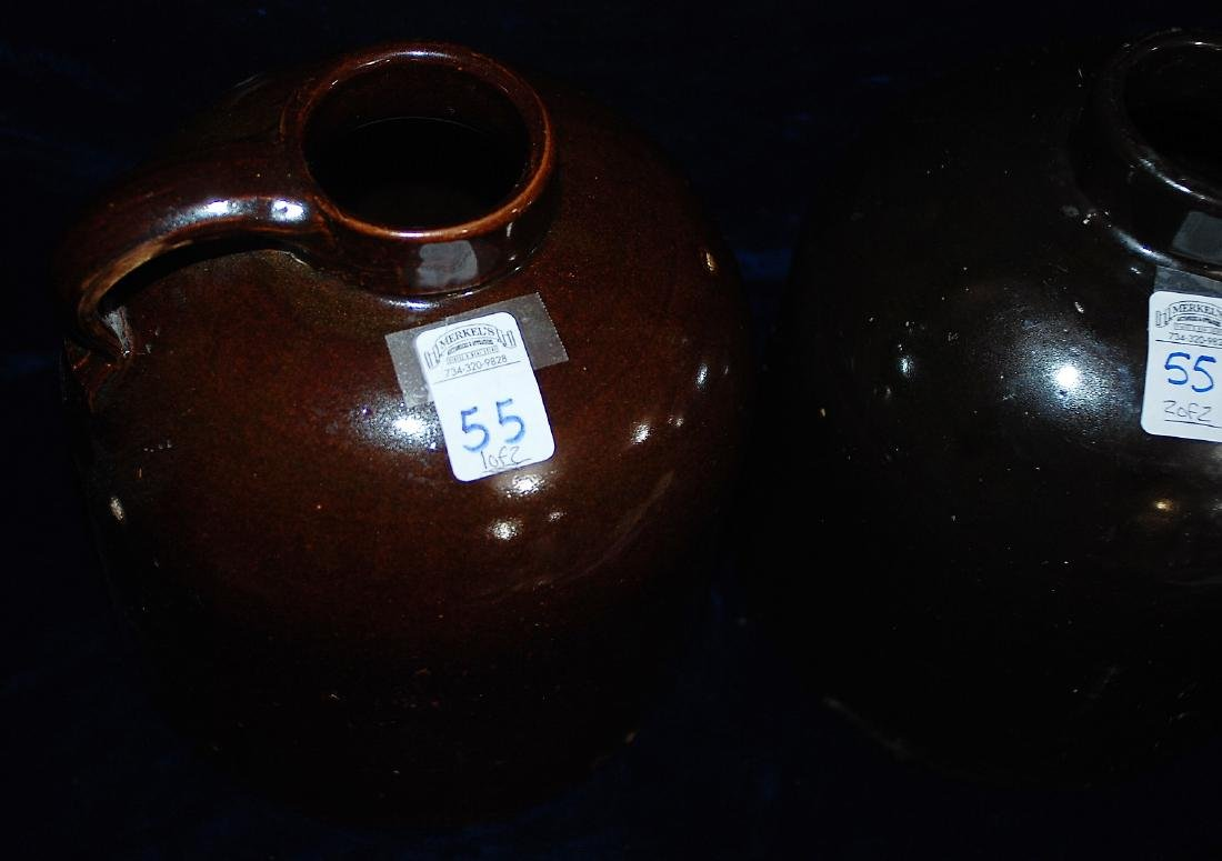 Red Wing lot of 2 one gallon wide mouth handled jugs - 2