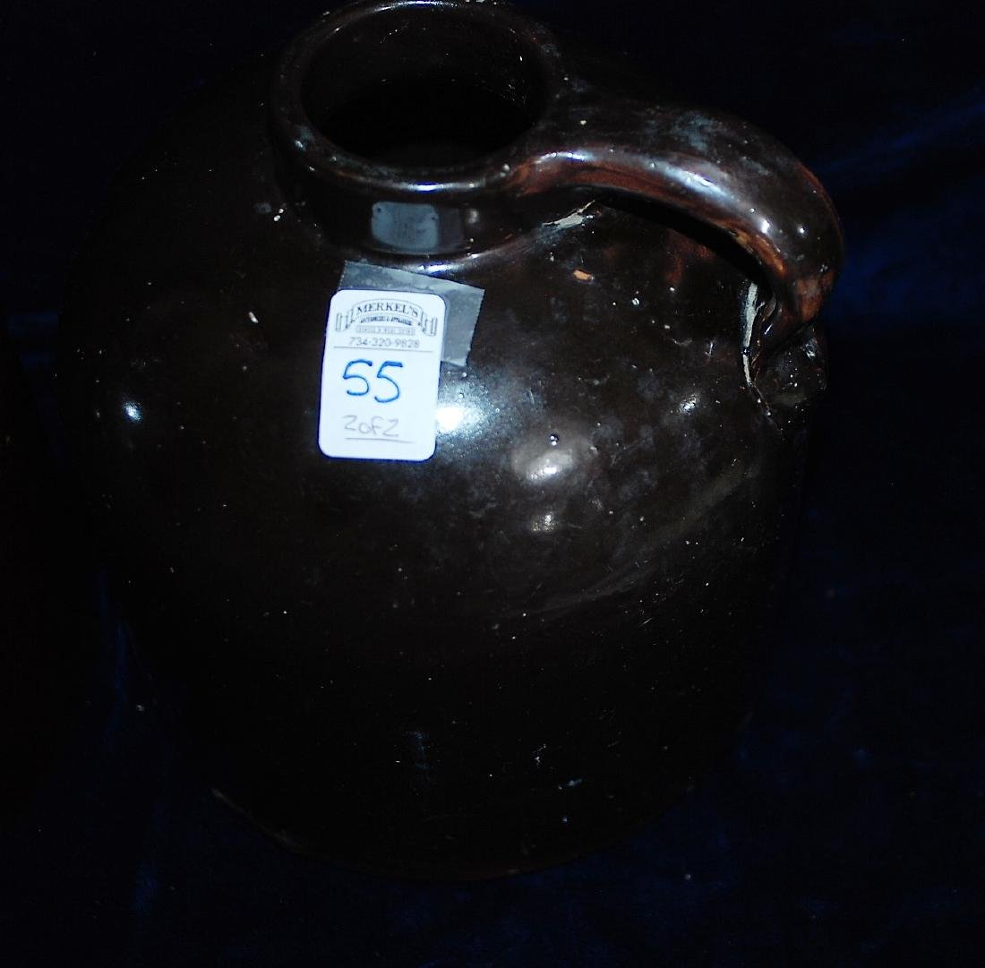 Red Wing lot of 2 one gallon wide mouth handled jugs - 3