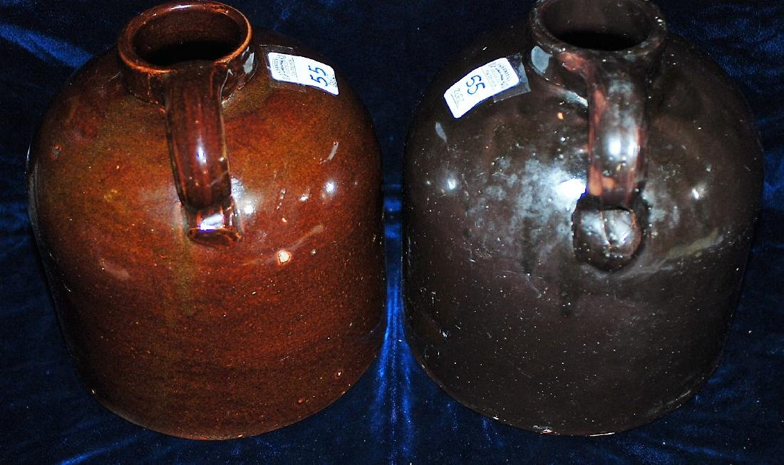 Red Wing lot of 2 one gallon wide mouth handled jugs - 4