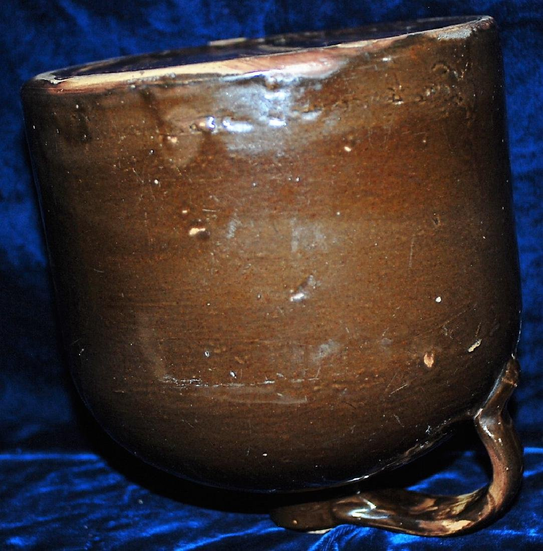 RED WING one gallon handled jug with red/brown glaze - 3