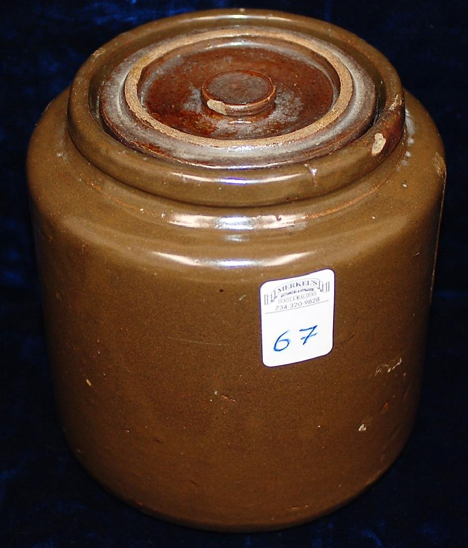 1892-1896 North Star Stoneware Preserve Jar