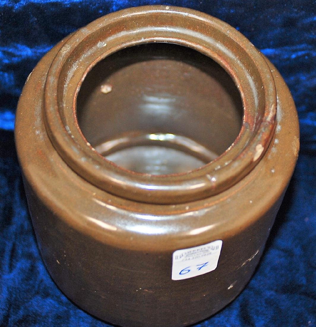 1892-1896 North Star Stoneware Preserve Jar - 2