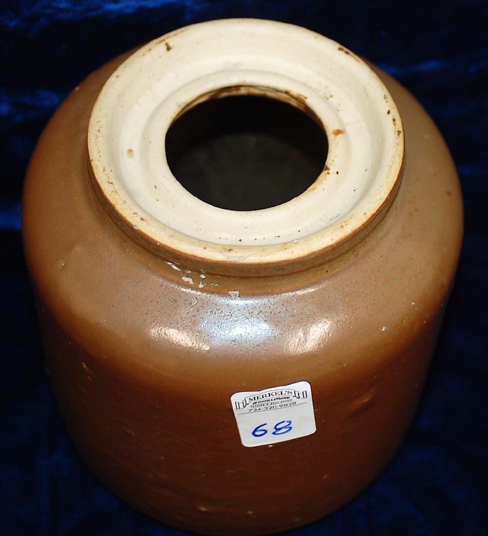 1892-1896 North Star Stoneware Wide Canter Jar - 2