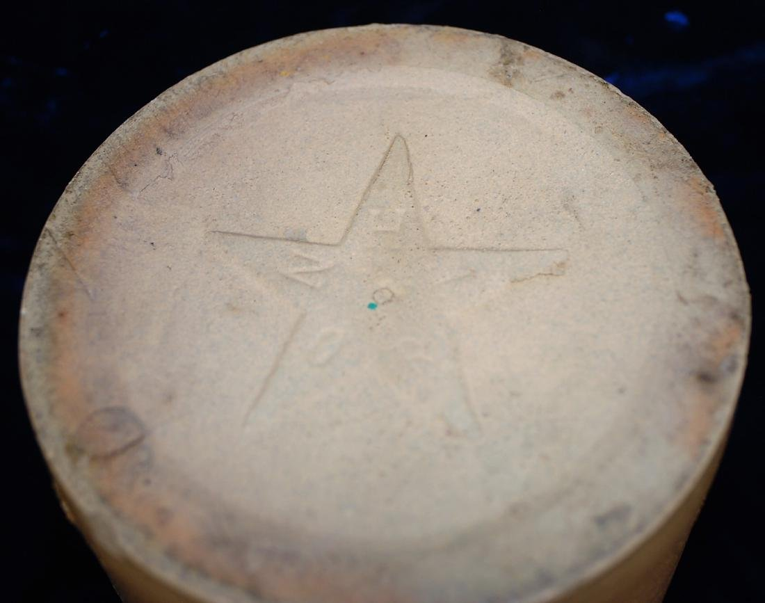 1892-1896 North Star Stoneware Whiskey Jug - 5