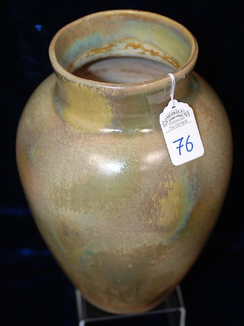 Red Wing Nokomis Art Pottery Vase 10""