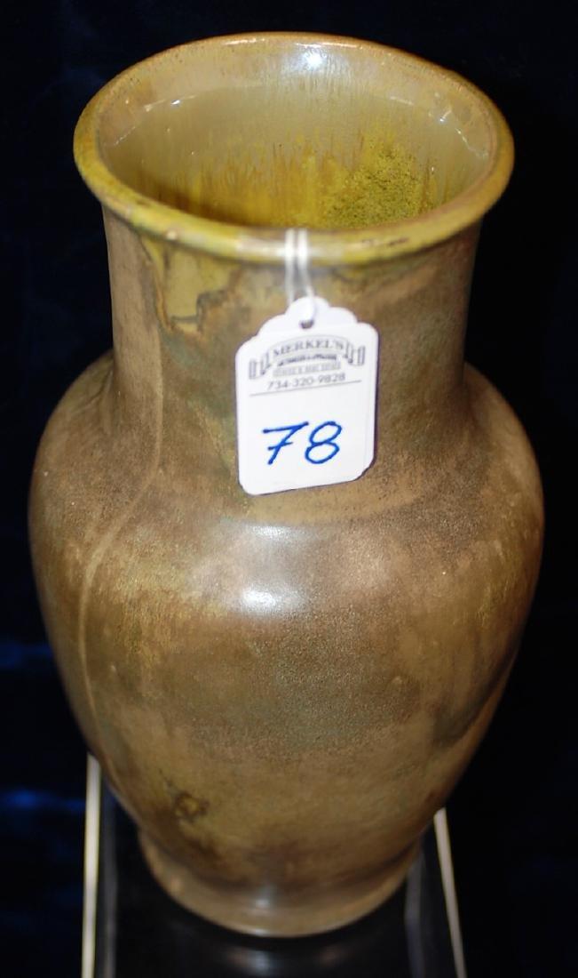 Red Wing Nokomis Art Pottery Vase #195
