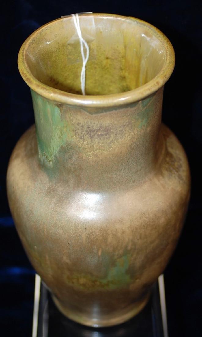 Red Wing Nokomis Art Pottery Vase #195 - 4