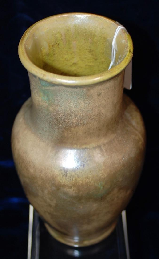 Red Wing Nokomis Art Pottery Vase #195 - 5