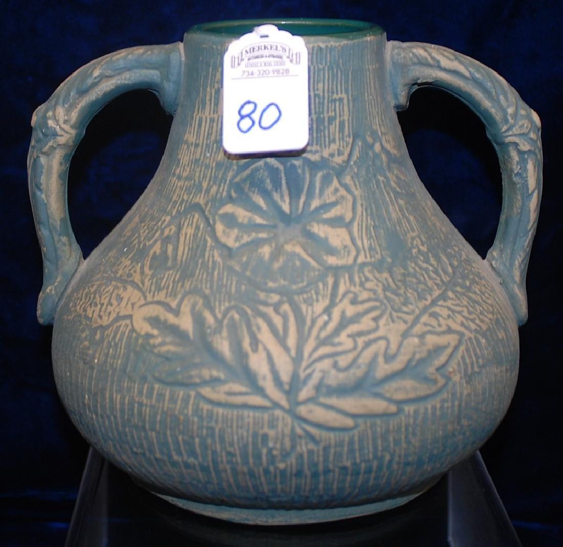 Brushed ware Red Wing Union Stoneware #127 Vase