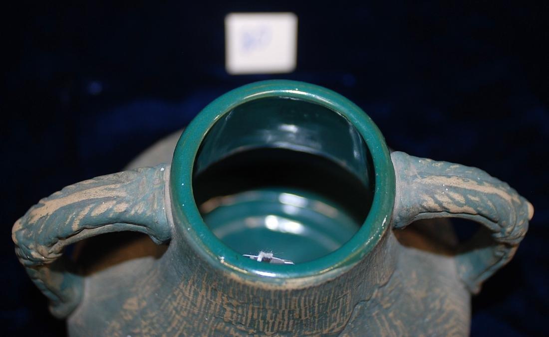 Brushed ware Red Wing Union Stoneware #127 Vase - 6