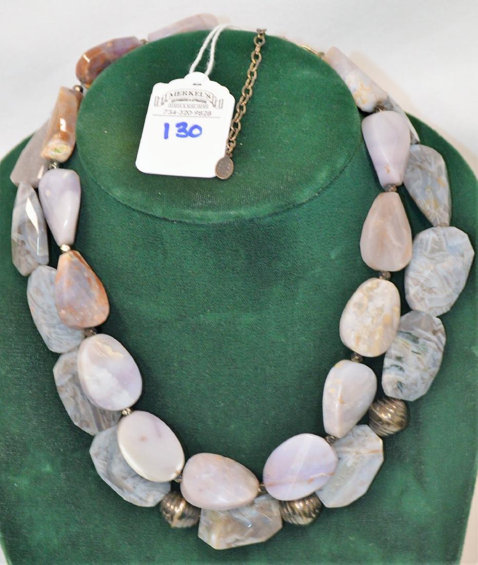 Lot of 8 necklaces & 1 bracelet - 4