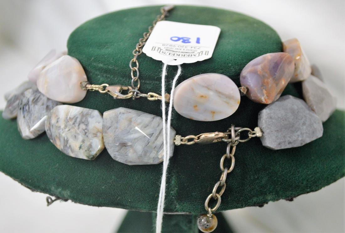 Lot of 8 necklaces & 1 bracelet - 5