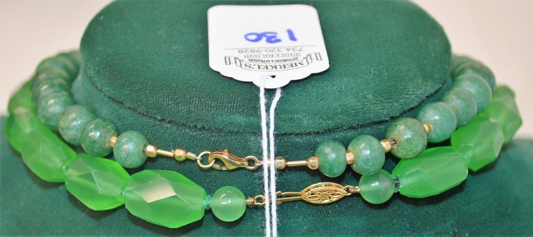Lot of 8 necklaces & 1 bracelet - 9