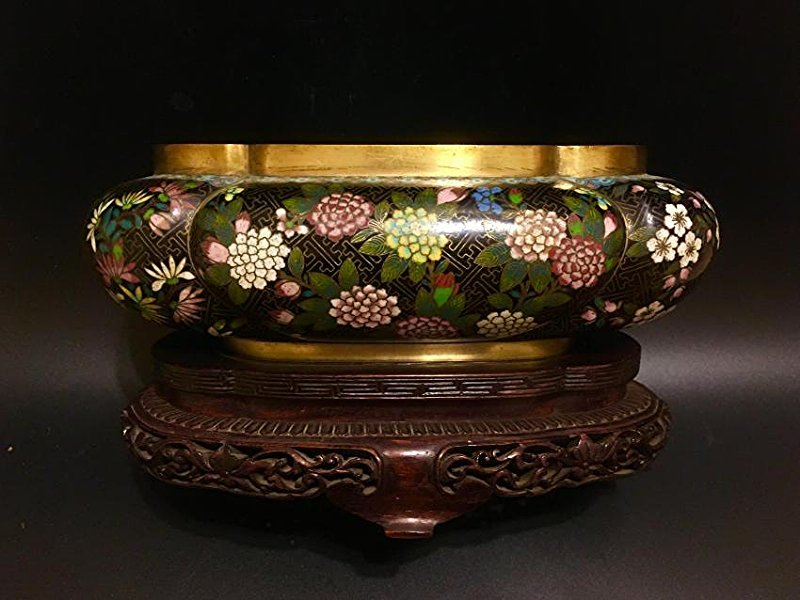 CHINESE 19TH  Cloisonne BOWL
