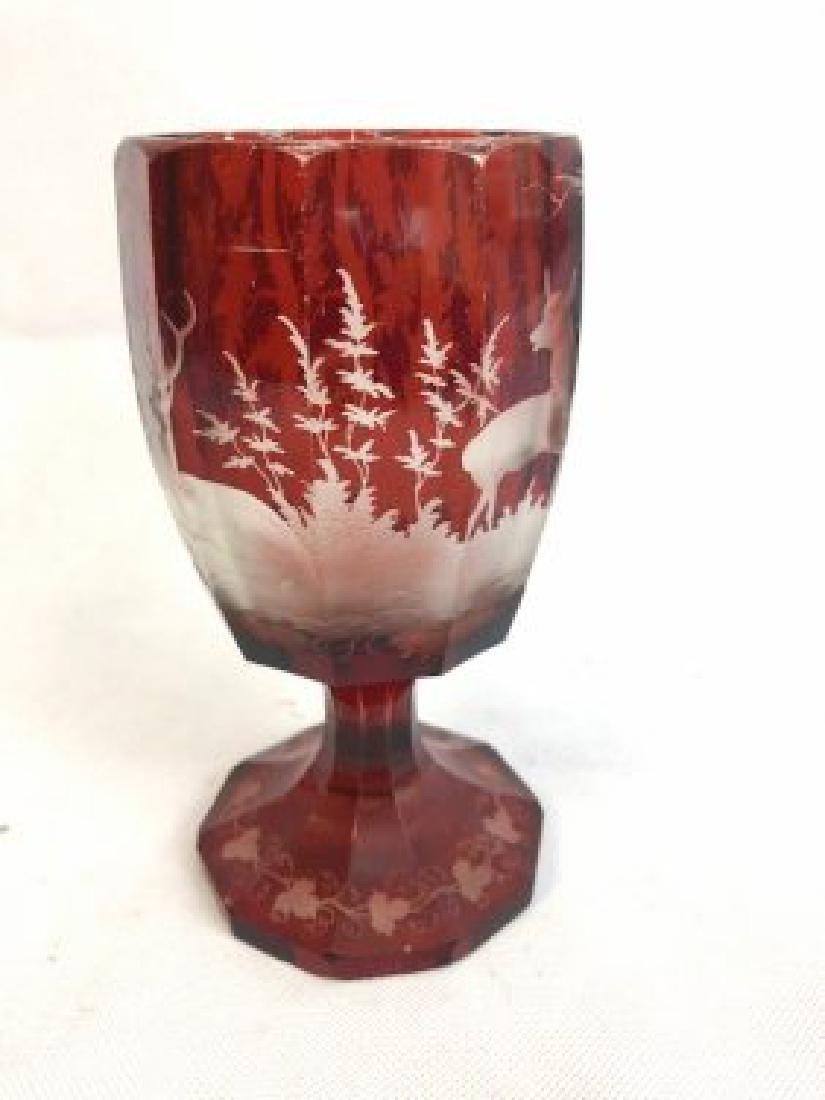 Bohemian goblet