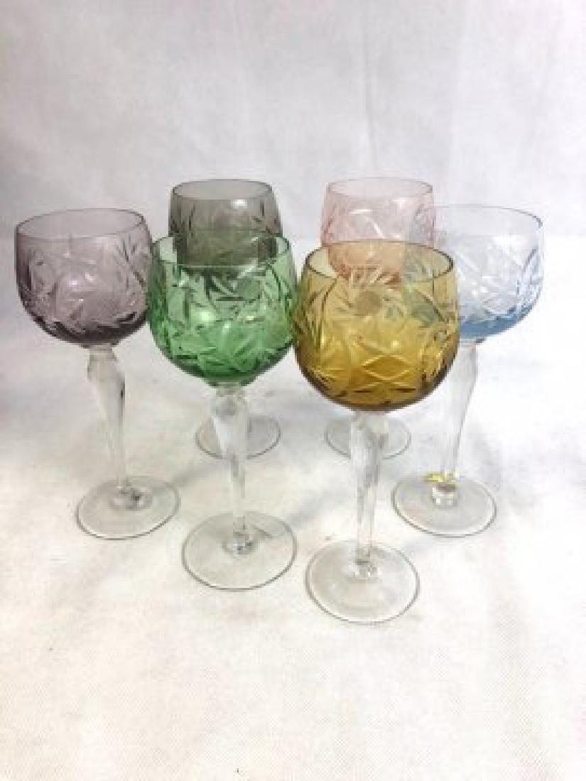 Set of 6 Champagne Glasses
