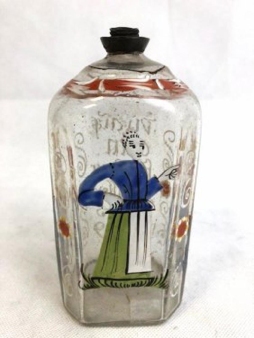 Bohemian flask