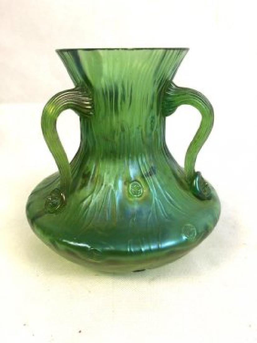 Lotz style handled Vase