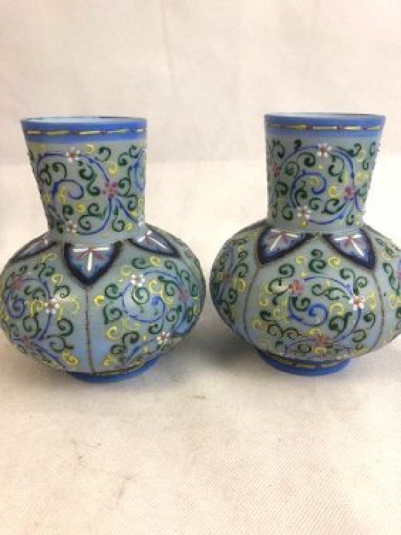 Pair of Thomas Webb vase
