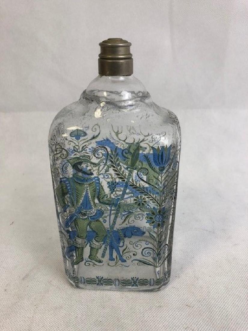 Bohemian flask - 3