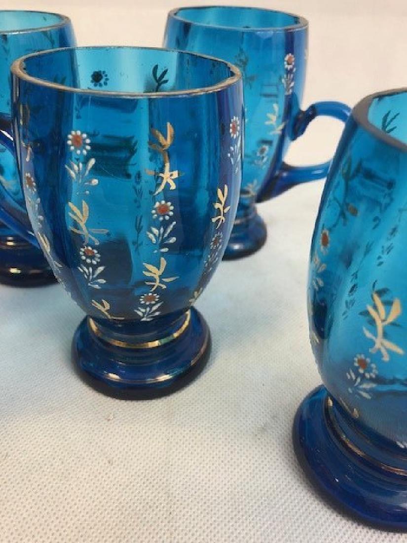 Five blue glasses - 3