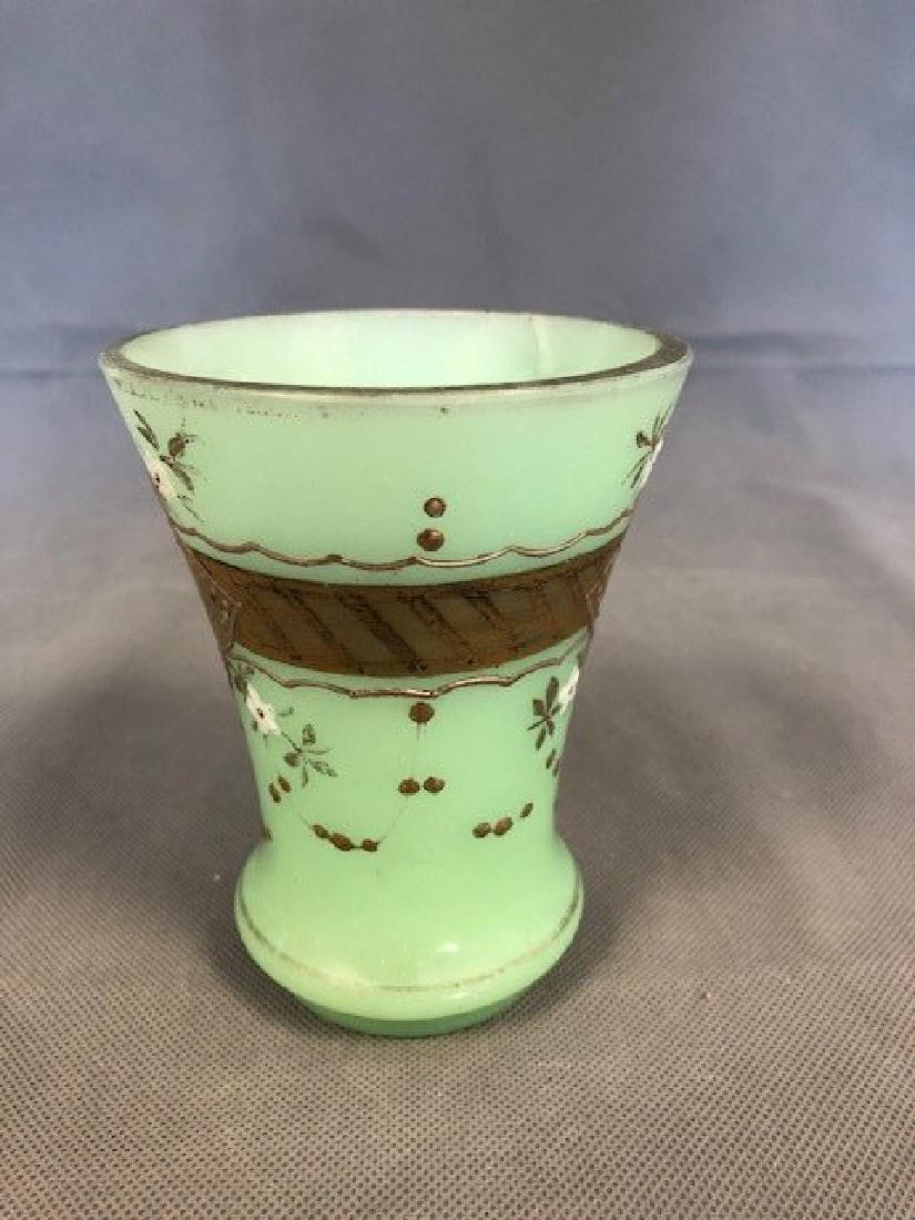 Opaline green beaker - 2