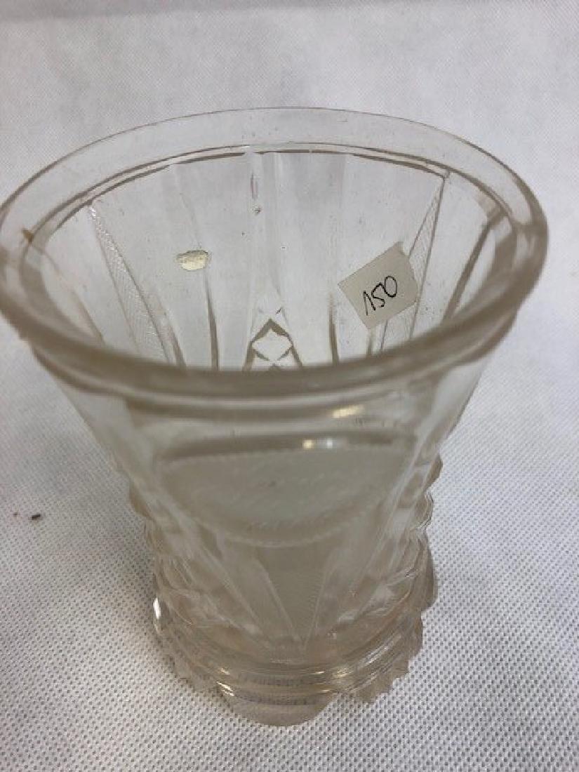Bohemian Glass Beaker - 2