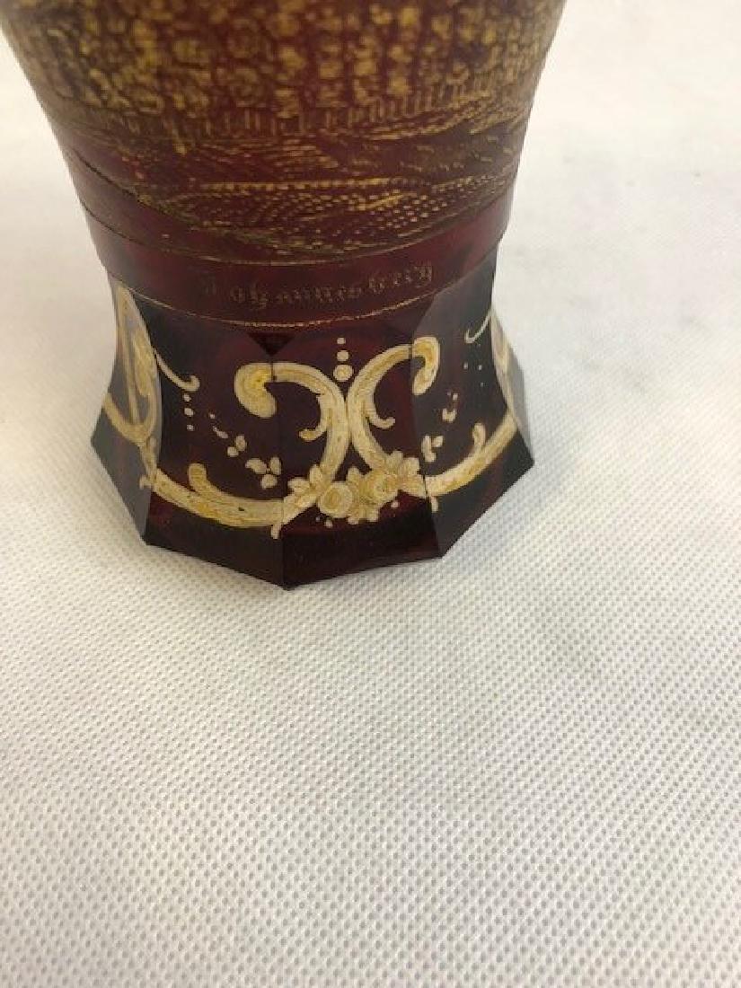 Bohemian Glass Beaker - 3