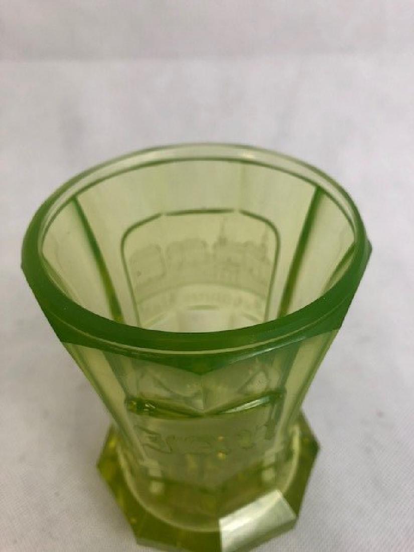 Uranium Bohemian Goblet - 3