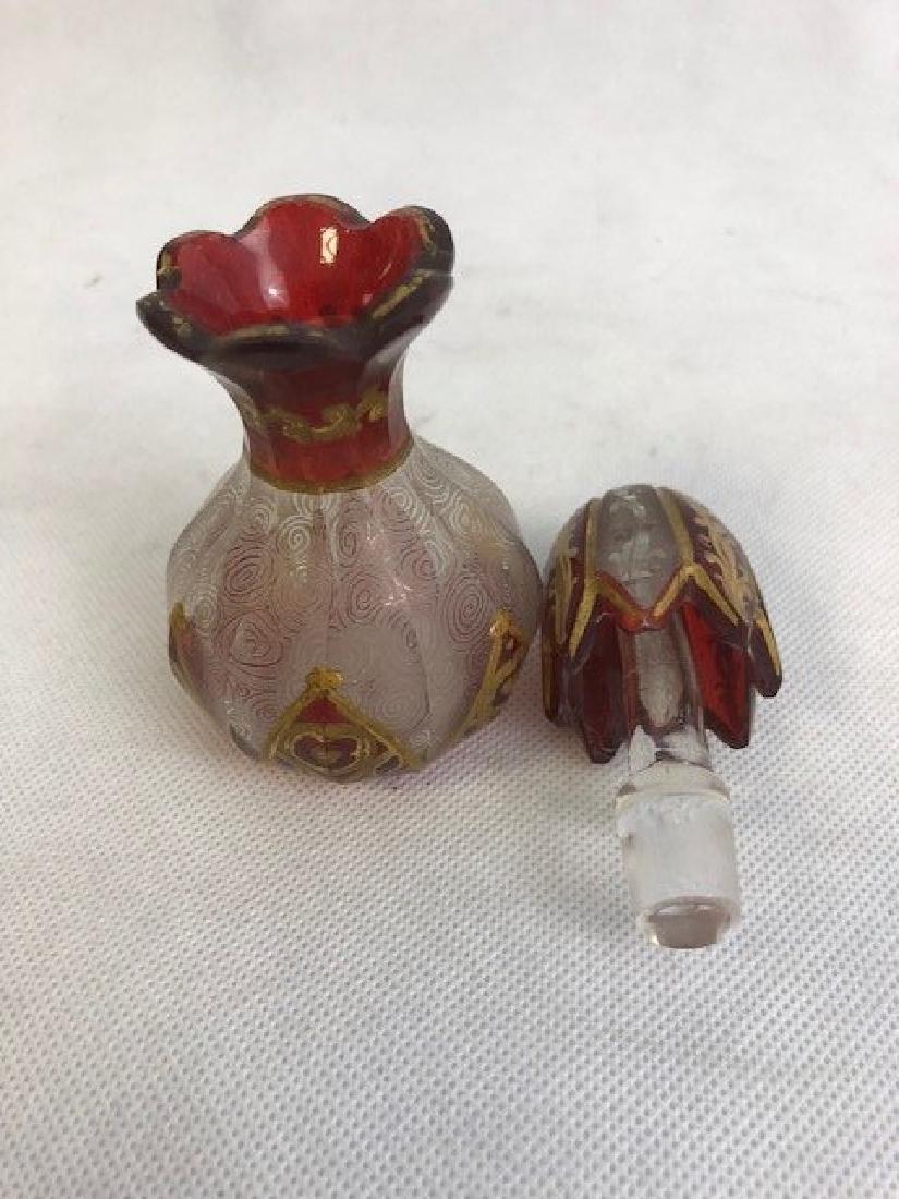 Bohemian Enamelled Bottle - 3