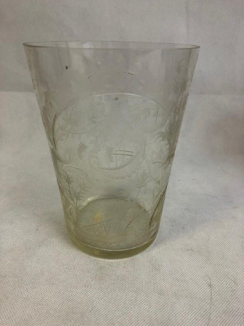 Engraved Beaker